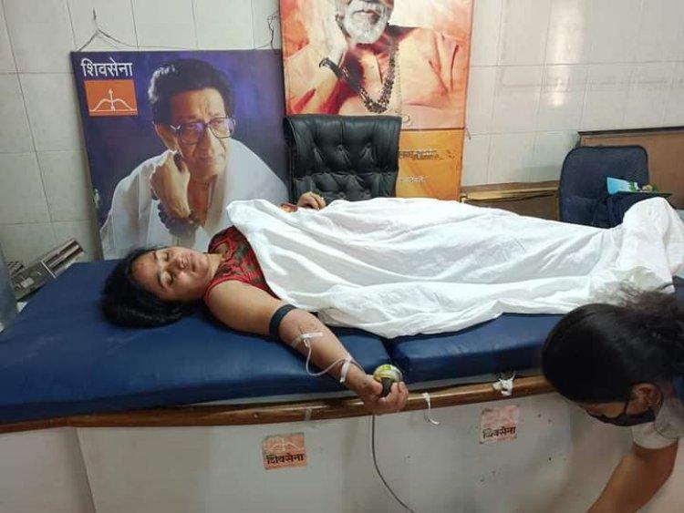 रामनगर गणेशोत्सव मंडळाचे रक्तदान शिबिर संपन्न