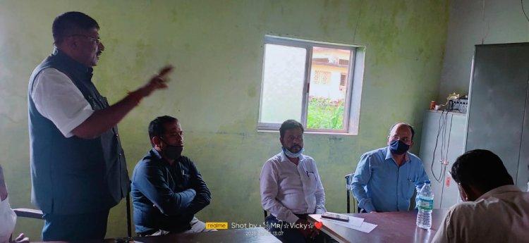 मुरबाड तालुक्यात सर्वत्र महावितरण कंपनीच्या वतीने एक गाव एक दिवस अभियान राबवणार - दिलीप भोले